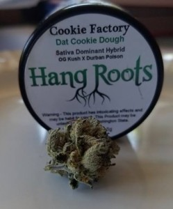 hang-roots-dat-cookie-dough-flower, weed, marijuana, high-energy strains