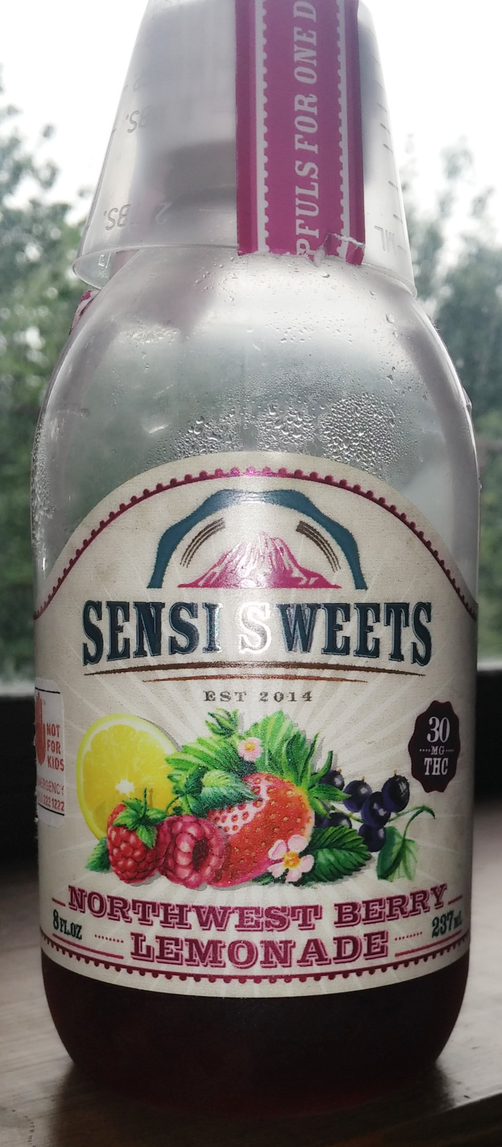 Sensi Sweets Northwest Berry Lemonade