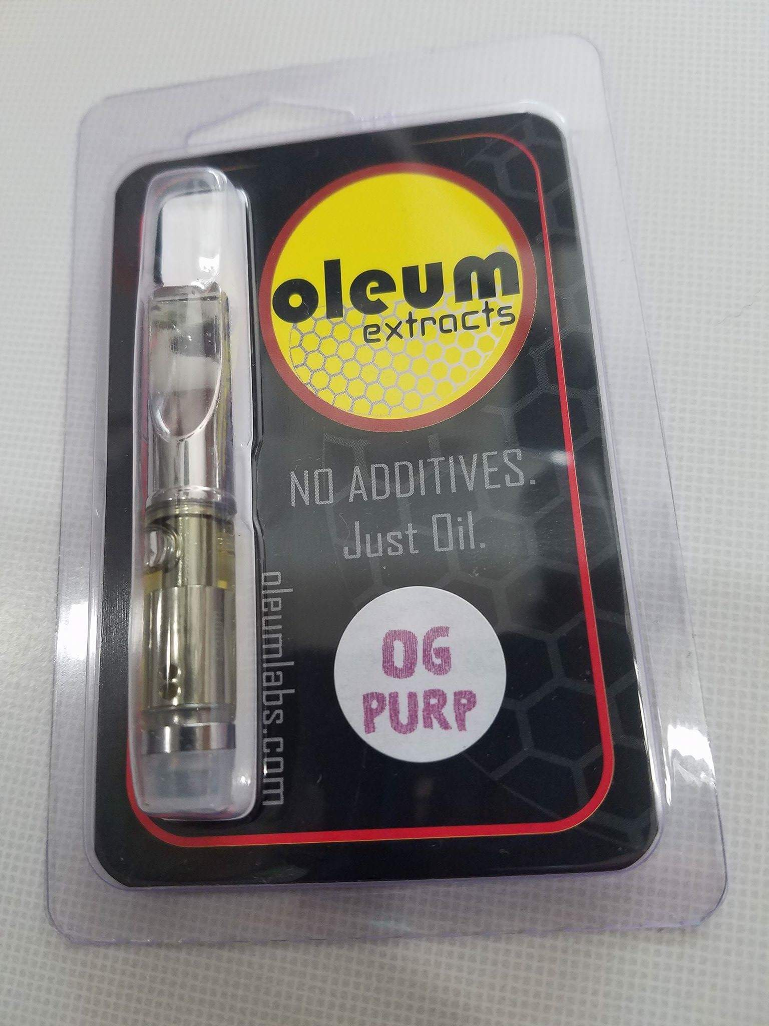 oleum extracts OG Purp distillate