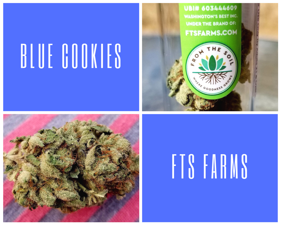 Blue Cookies by FTS Farms