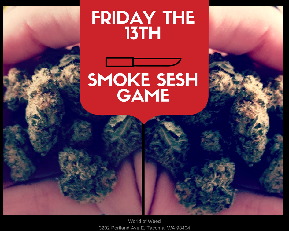 Friday the 13th – The Smoke Sesh Game