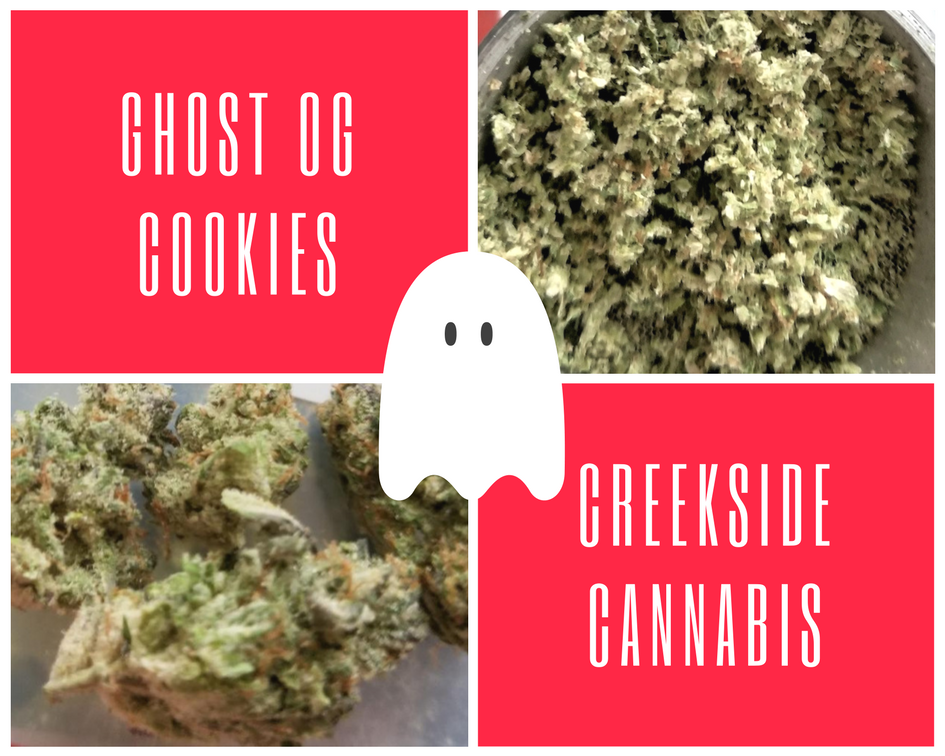 Ghost OG Cookies by Creekside Cannabis