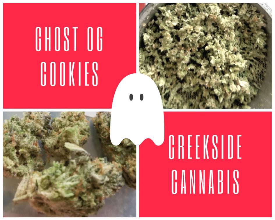Ghost OG Cookies by Creekside Cannabis