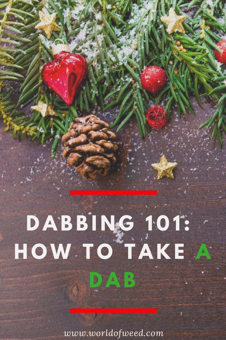 dabbing, how to take a dab, dab