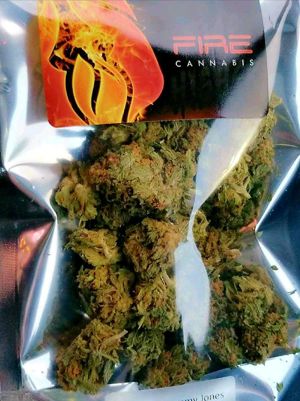 fire cannabis pineapple express