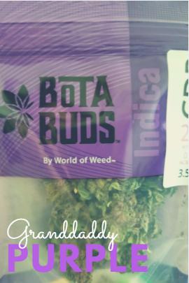 Bota Buds Granddaddy Purple Strain