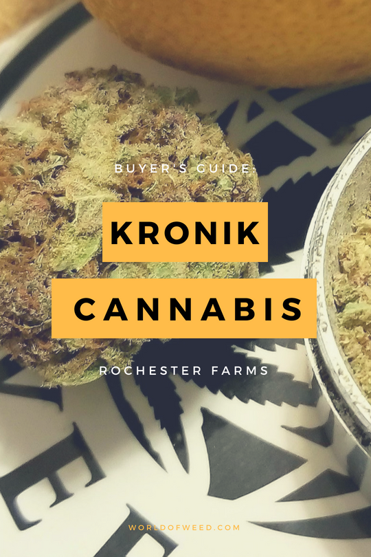 Buyer's Guide: Kronik Cannabis