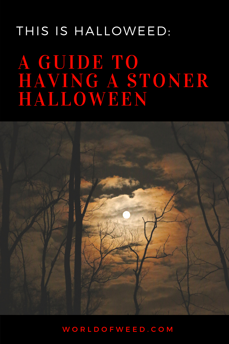 This is HalloWEED: A Guide to Having an Unbeatable Stoner Halloween