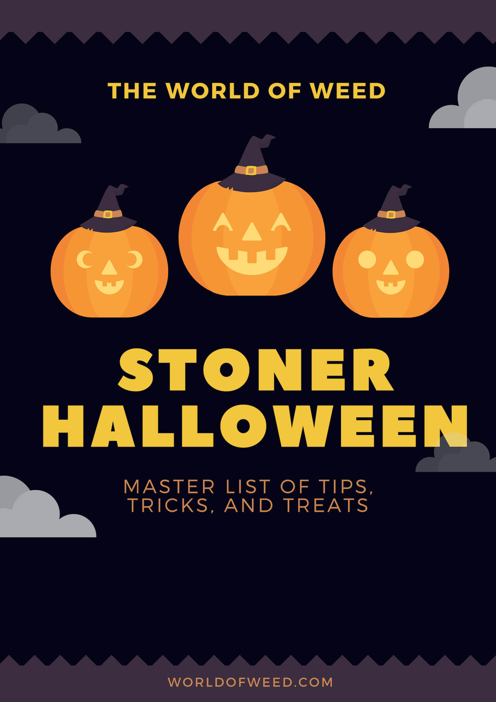 The World of Weed Master List of Stoner Halloween Tips, Tricks, and Treats