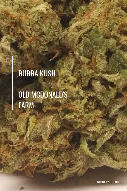 Old McDonald's Farm strains