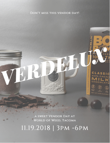 Verdelux edibles, edibles, vendor day