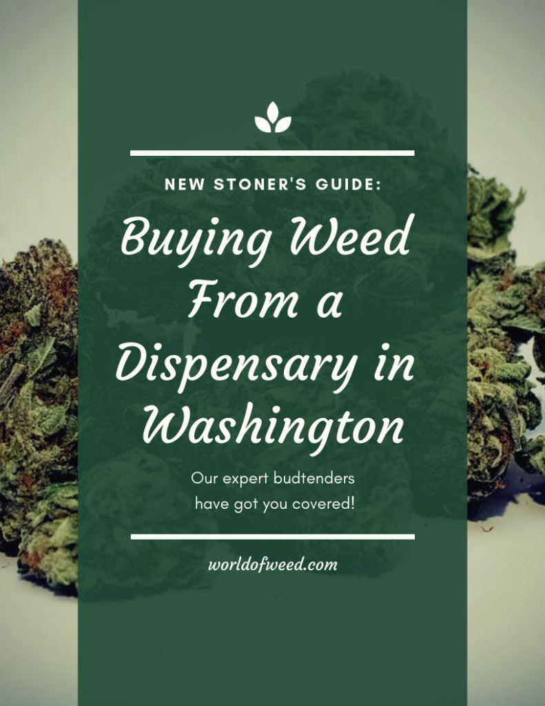 buying weed from a dispensary in washington