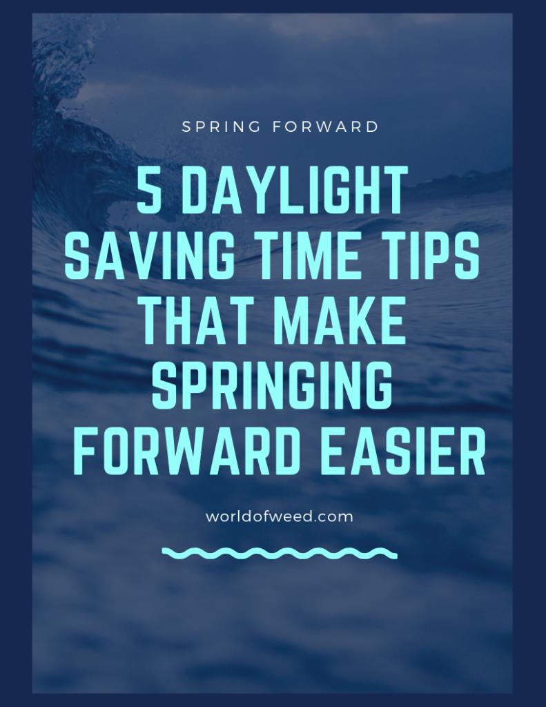 Daylight Saving Time 2019 tips