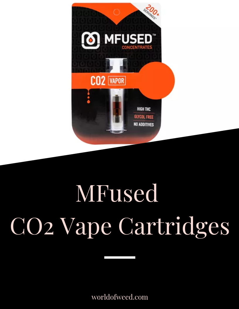 Stay Lifted With  MFused CO2 Vape Cartridges