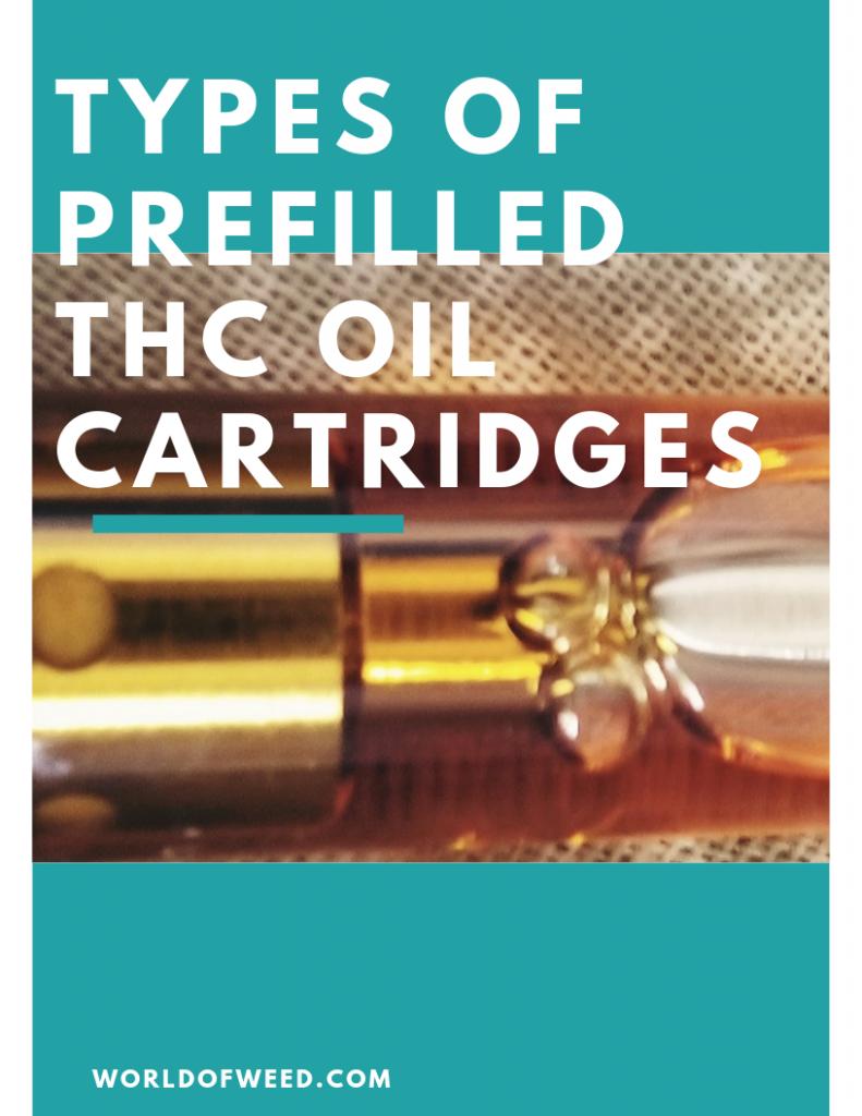 prefilled thc oil cartridges