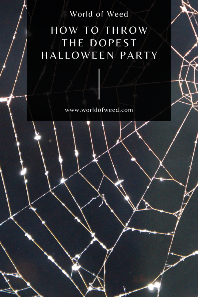 How to Throw the Dopest Halloween Party by Tacoma dispensary, World of Weed