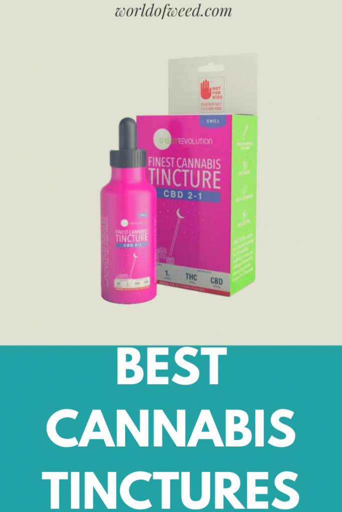 Best Cannabis Tinctures from Tacoma dispensary World of Weed.