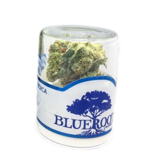 UW Purple from Blue Roots Cannabis, available at Tacoma dispensary World of Weed