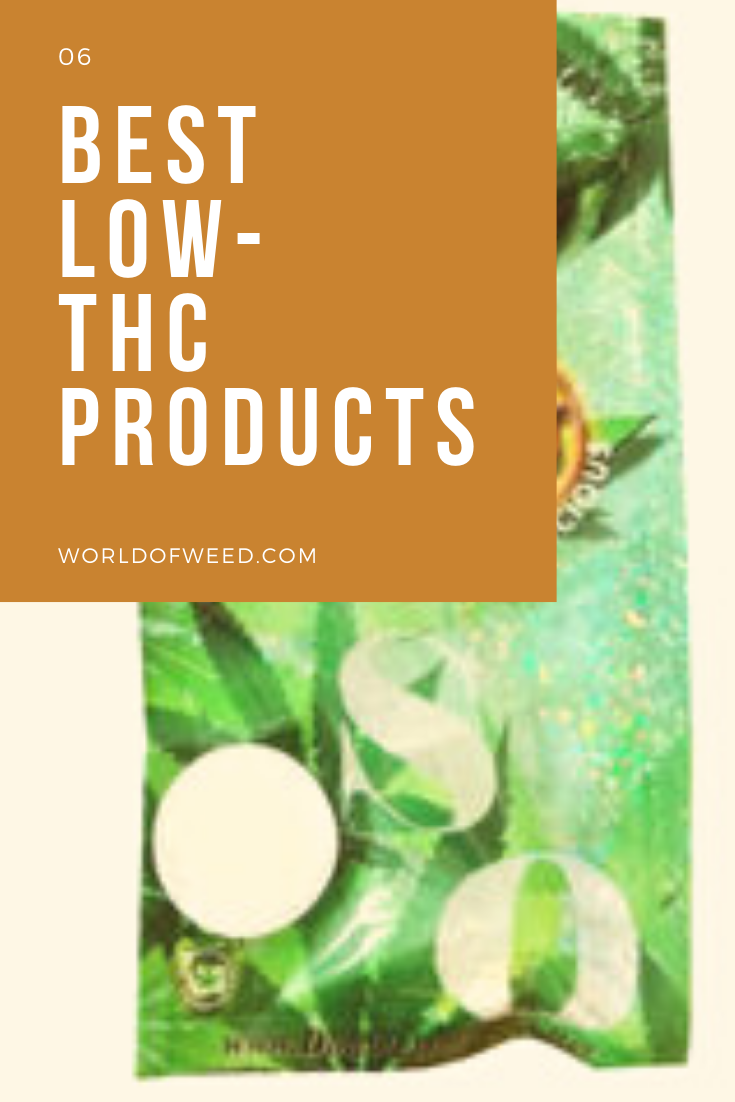 6 Best Low-THC Products