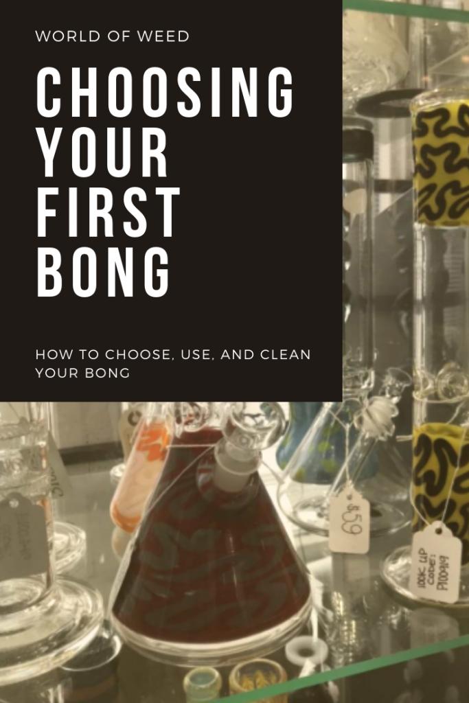 Choosing a bong