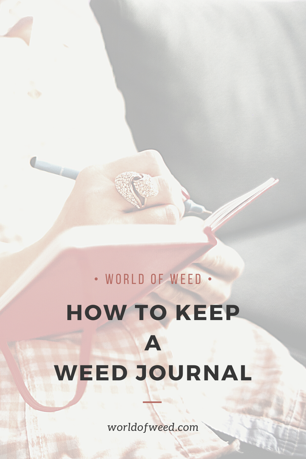 Starting and Keeping a Weed Journal