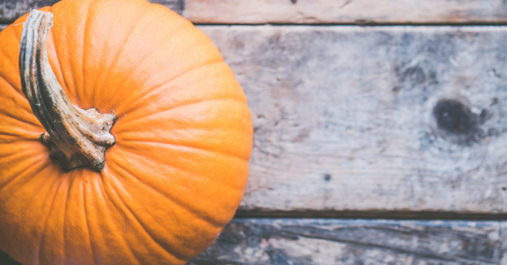 Decorate your home for fall with pumpkins