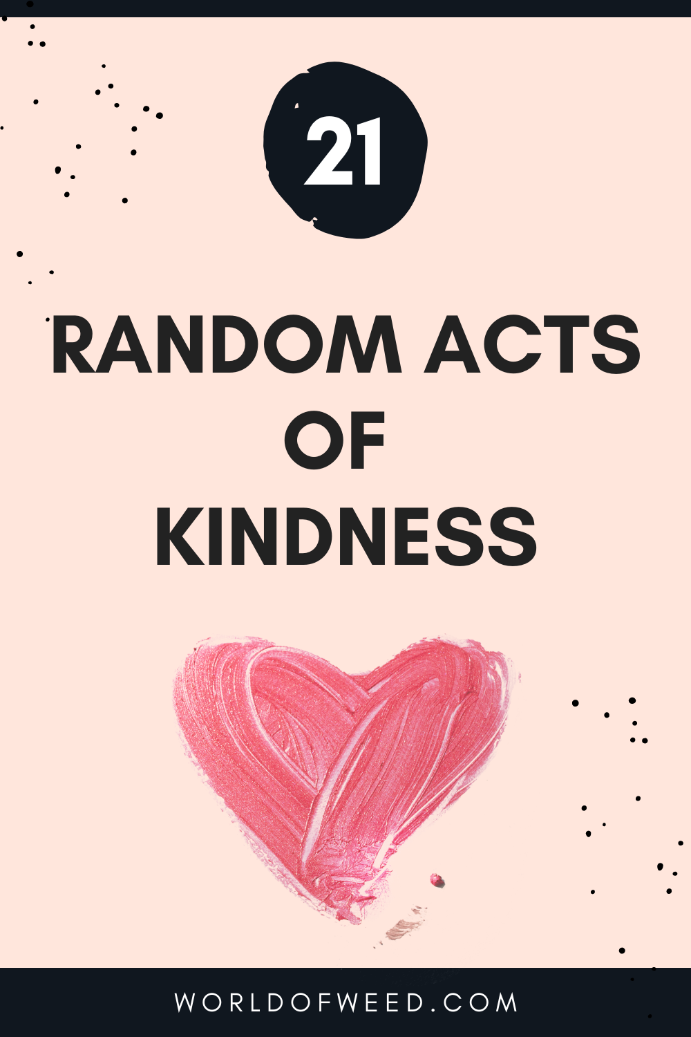 21 Random Acts of Kindness for World Kindness Day