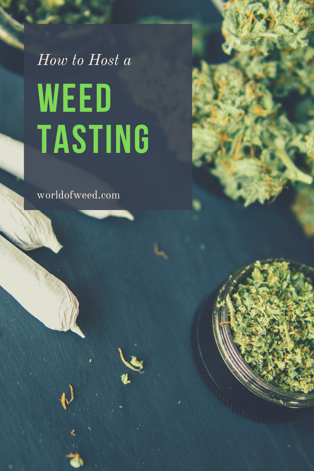 How to Host a Weed Tasting