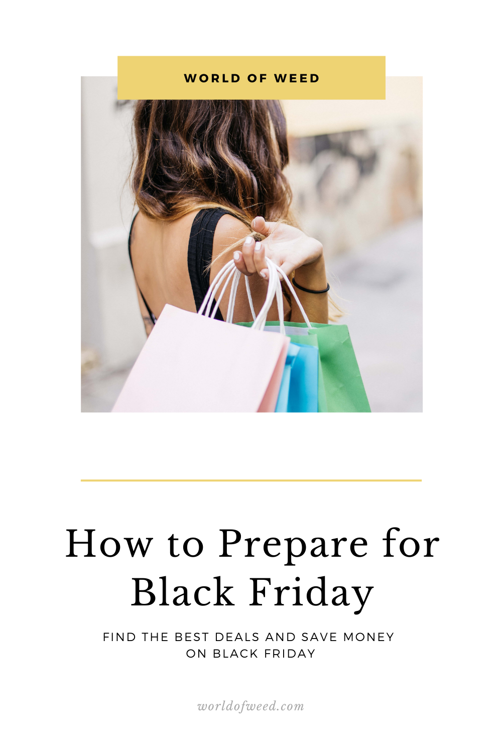 How to Prepare for Black Friday