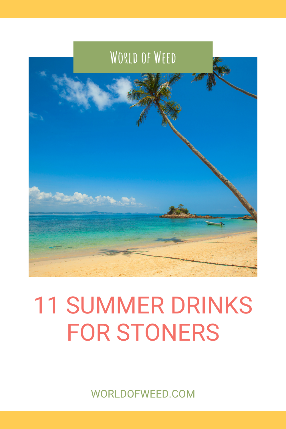 11 Summer Drink Options for Stoners